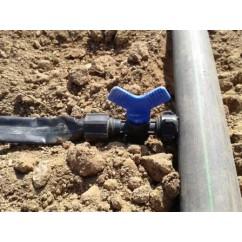 Válvula para cinta de riego TAPE