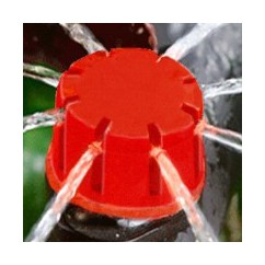 Gotero botón regulable (0-70l/h)