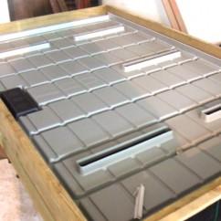 Mesa de cultivo con calefacción - especial orquideas