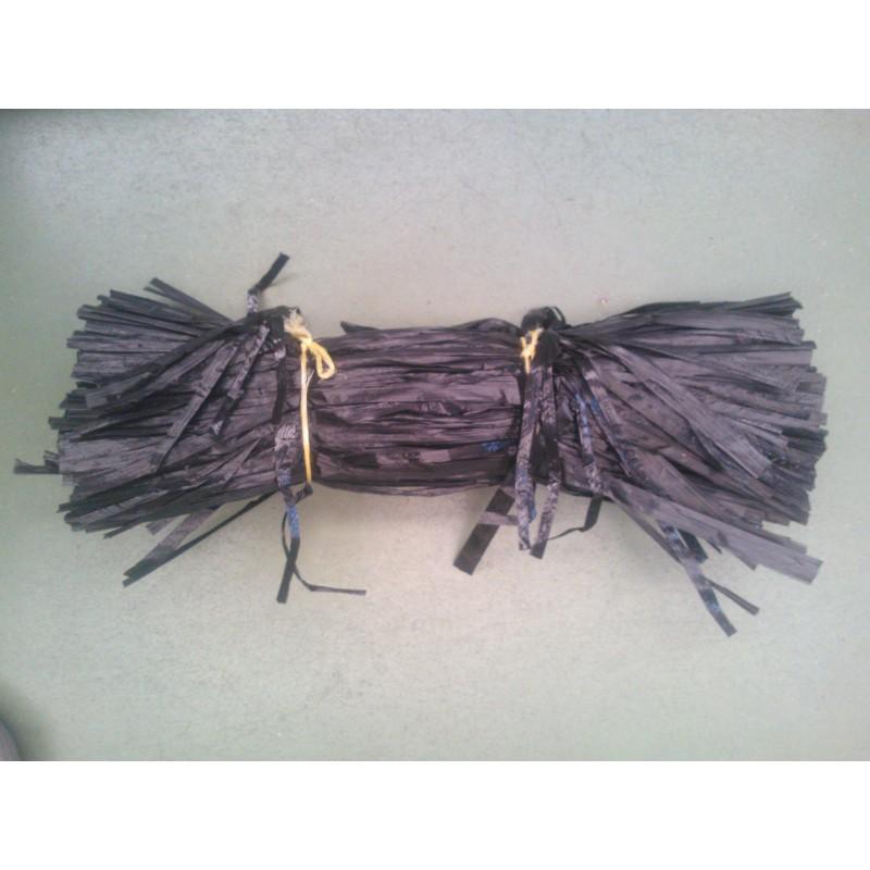 Rafia negra de 40cm