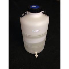 Bombona de 50 litros con grifo