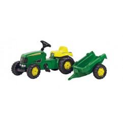 Tractor+remolc JOHN DEERE 142x47x52cm.