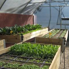 Mesa de cultivo en Madera